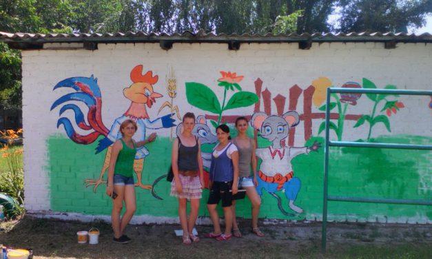 Як художники ДНЗ «Мелітопольське ВПУ» дітлахам казку створювали