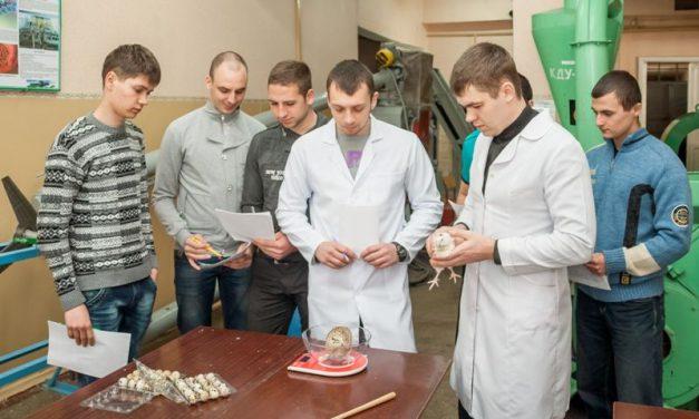 В унікальній лабораторії ТДАТУ створено замкнений цикл вирощування перепелів для експериментальних робіт студентів