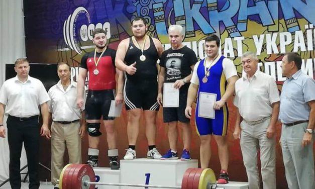 Серед переможців Чемпіонату України з важкої атлетики – спортсмени ЗНУ