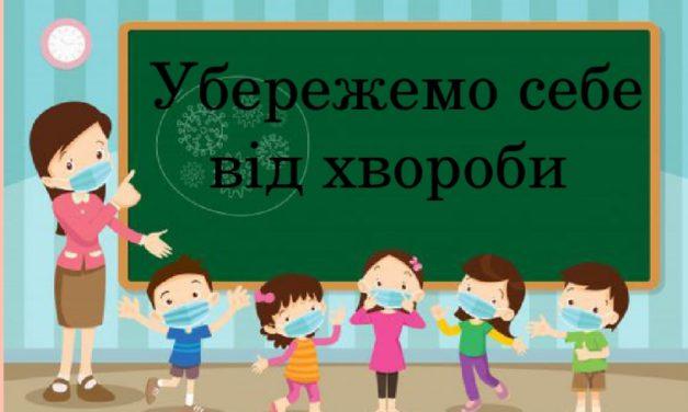 Поради здобувачам освіти як уберегти себе від СOVID-19