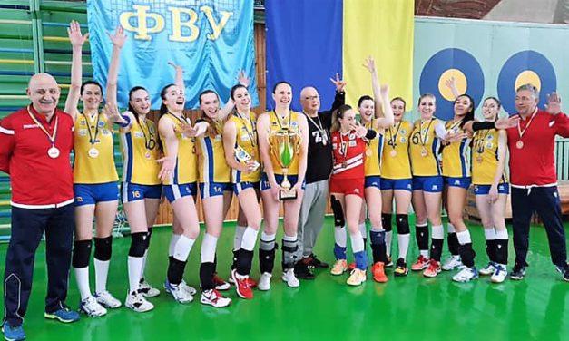 Студентки Запорізького національного університету стали бронзовими призерками чемпіонату України з волейболу