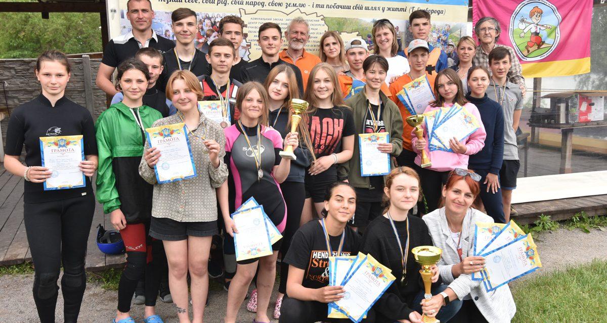Вихованці КЗ «Центр туризму» ЗОР провели збори та змагання з водного туризму