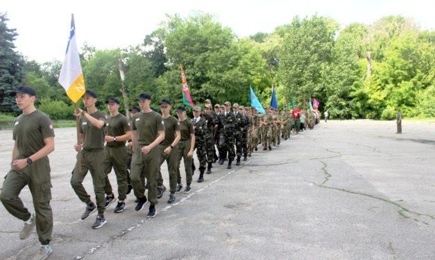 Відбулося урочисте відкриття  ІІ (обласного) етапу Всеукраїнської дитячо-юнацької  військово-патріотичної гри «Сокіл» («Джура»)