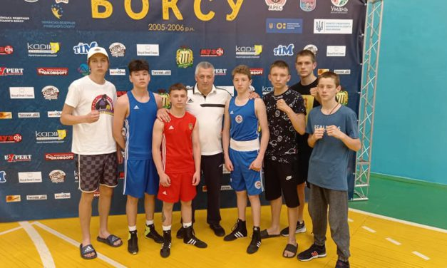 Запорізькі школярі вибороли п'ять нагород гімназіади України з боксу