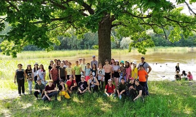ІІ обласна наметова школа-експедиція учнівської молоді «Степові лісництва рідного краю»